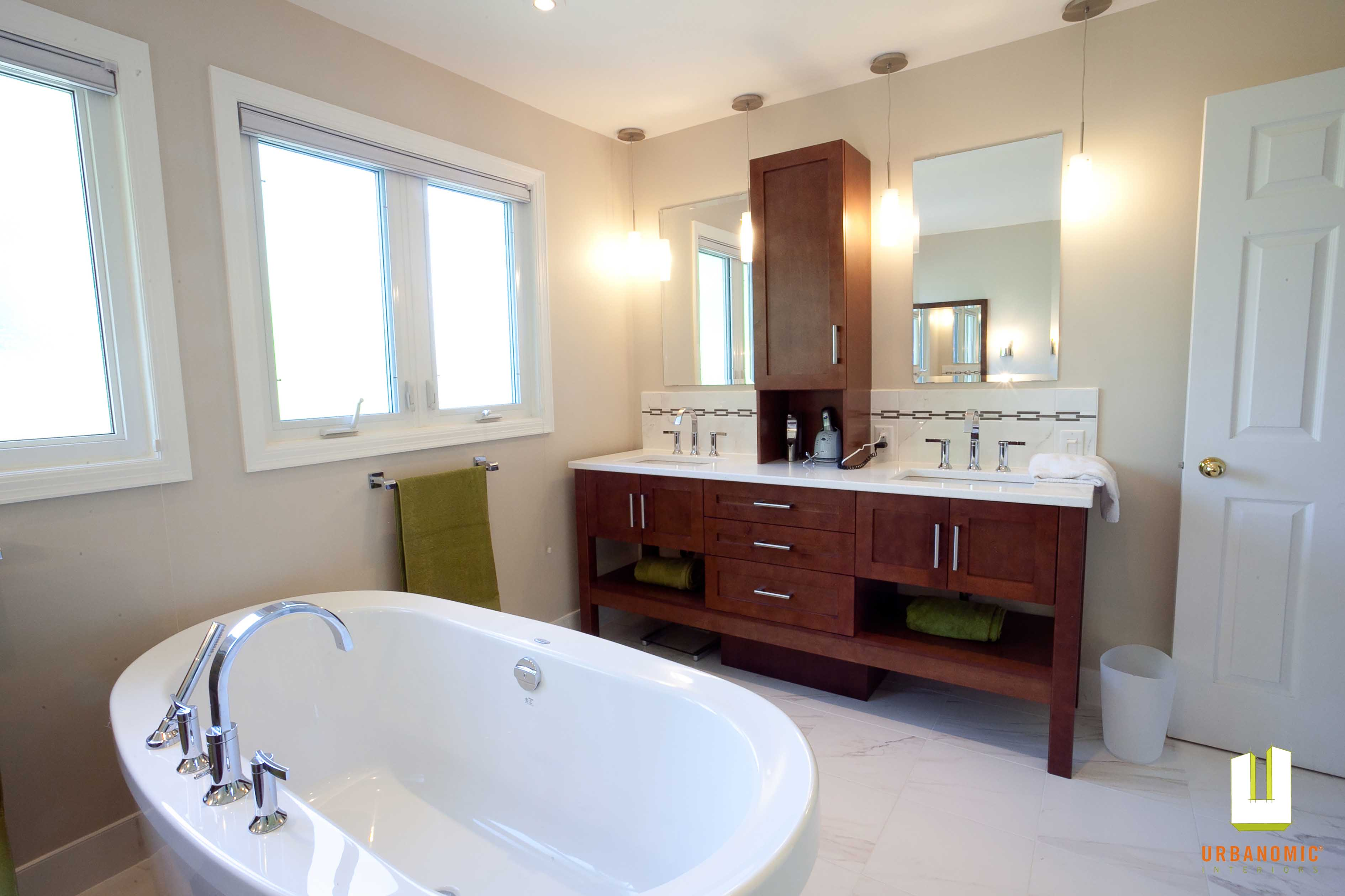 Contemporary Master Ensuite (Kanata / Ottawa ON)
