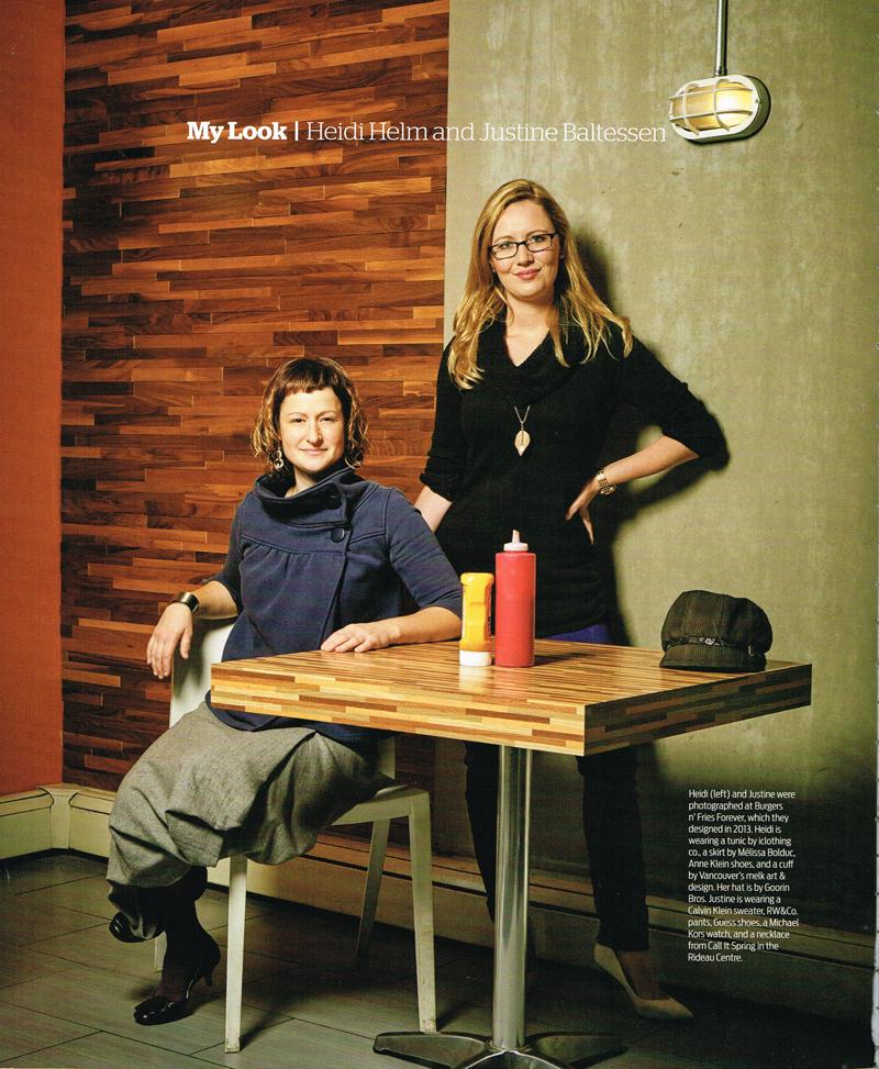 Ottawa Magazine: Burgers n' Fries Forever