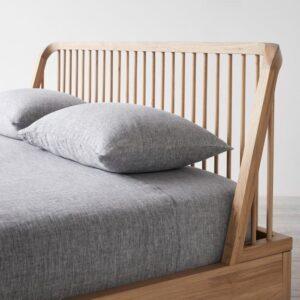 Unison Spindle Oak Bed