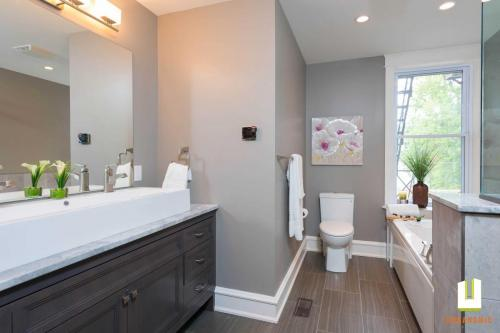 Transitional Ensuite Renovation 1